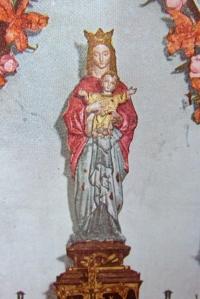 信徒発見のマリア像