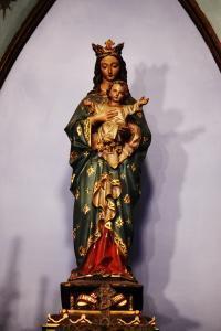 信徒発見のマリア像(化粧直し後)