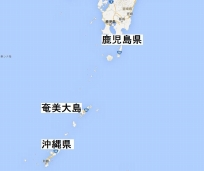奄美大島広域地図