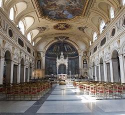 サンタ・チェチリア・イン・トラステヴェレ教会(聖堂-3廊式バジリカ)