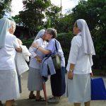 フィリピンの姉妹たちからの歓迎