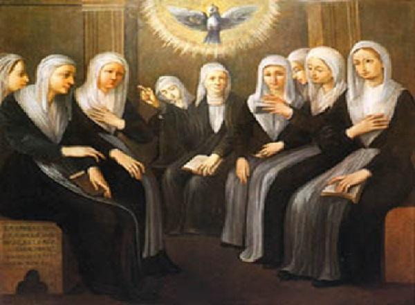 1535年聖ウルスラ修道会を創立
