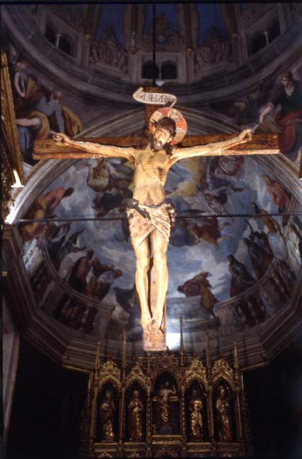 聖アンジェラもご覧になられたサロのデゥオモウの十字架
